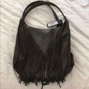 Hammitt Fets fringe bag in Earl Grey-B, NWT!!!